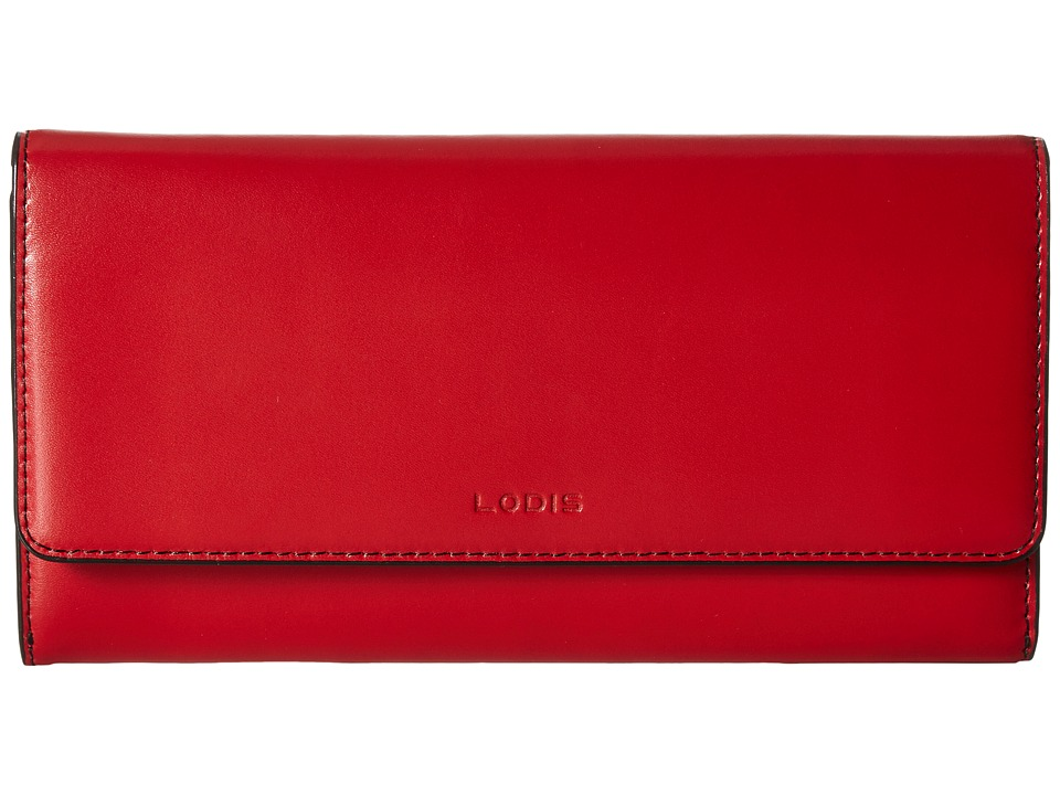 Lodis Accessories - Audrey Cami Clutch Wallet (Red) Wallet Handbags