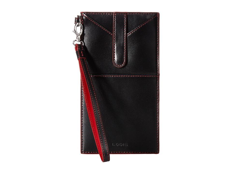 Lodis Accessories - Audrey Ingrid Phone Wallet (Black) Wallet Handbags
