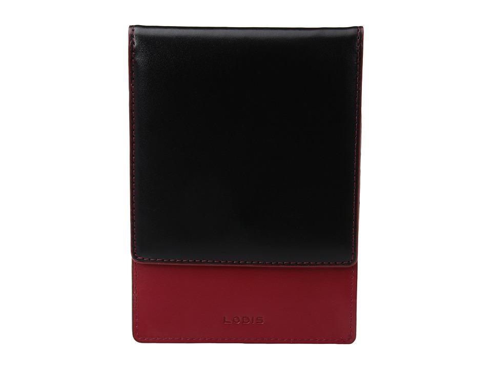 Lodis Accessories - Audrey Skyler Passport Wallet (Black) Wallet Handbags