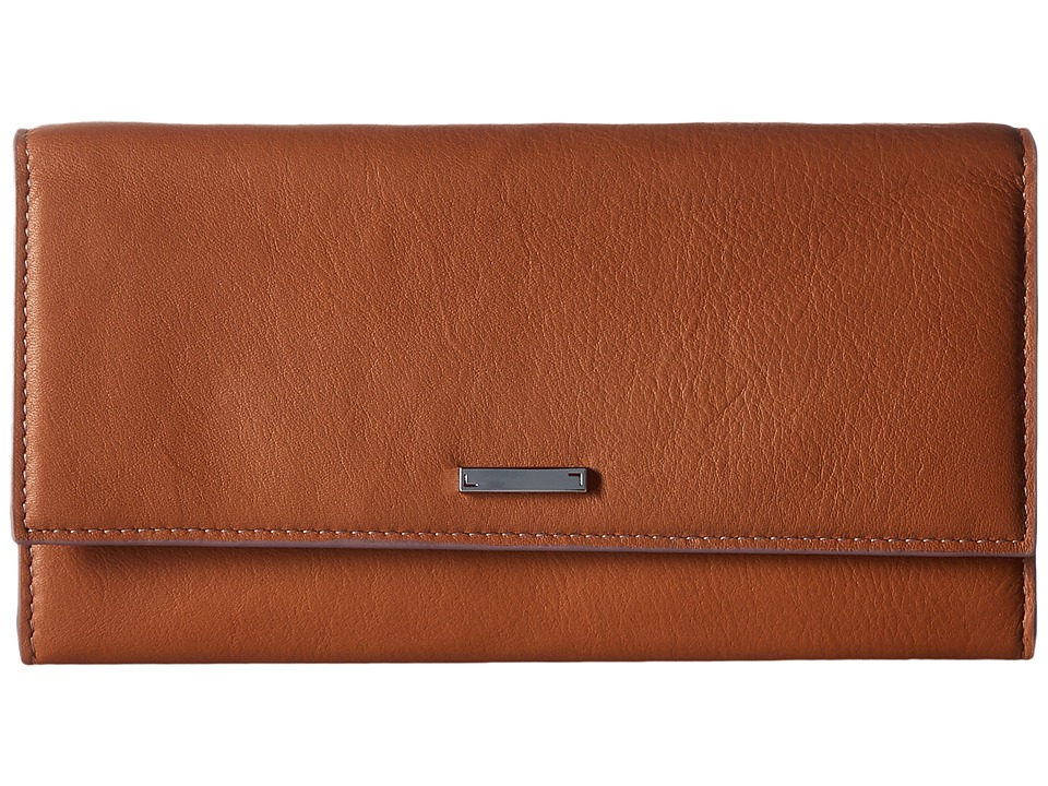 Lodis Accessories - Mill Valley Under Lock Key Cami Clutch Wallet (Toffee) Wallet Handbags