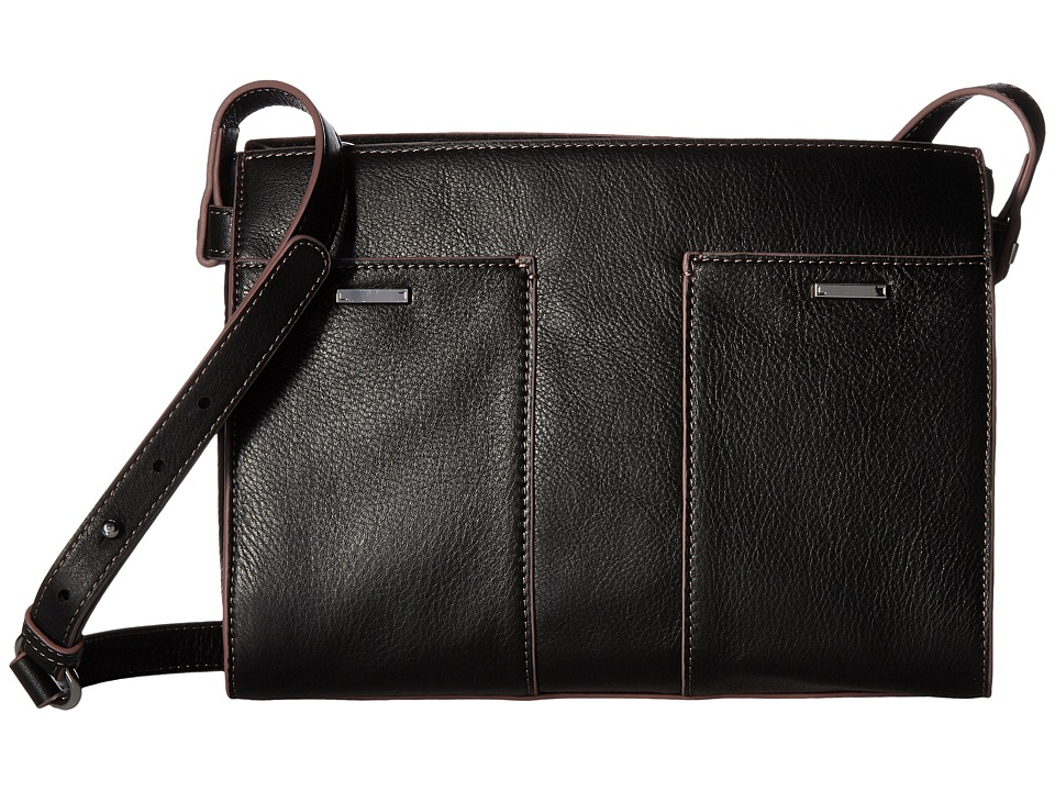 Lodis Accessories - Mill Valley Under Lock Key Hermione Crossbody (Black) Cross Body Handbags