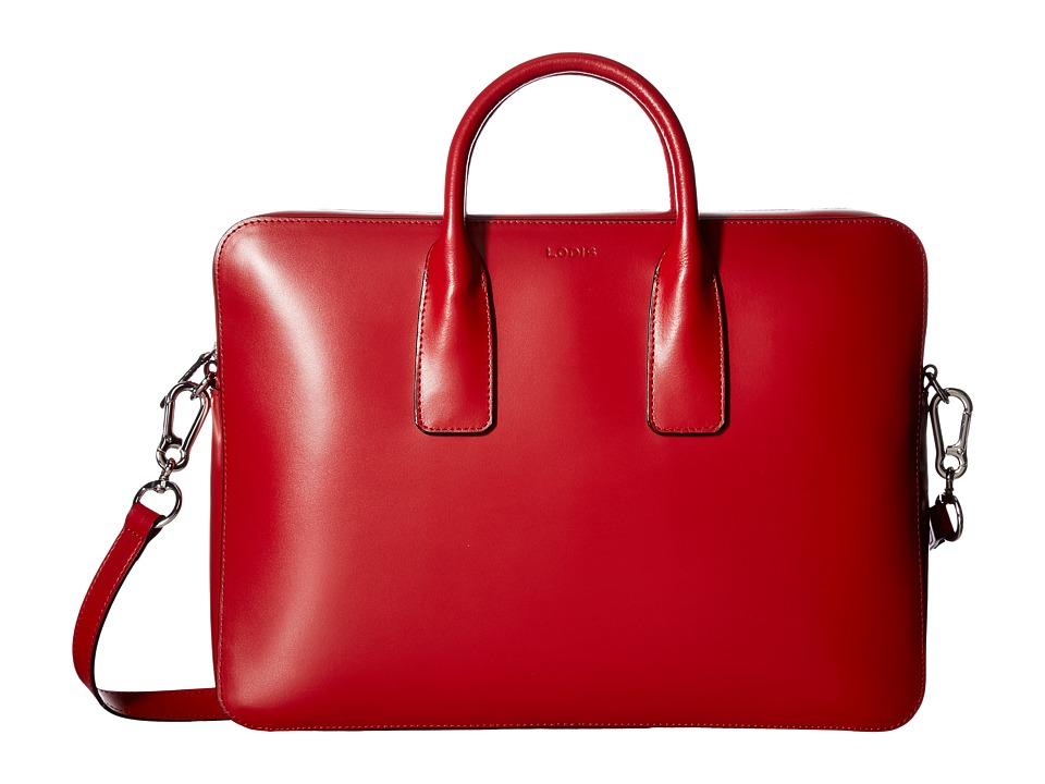 Lodis Accessories - Audrey Cadee Laptop Crossbody (Red) Cross Body Handbags