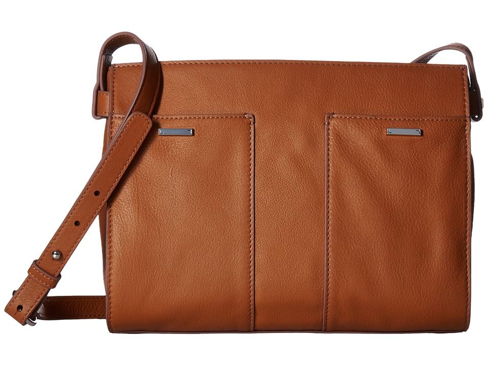 Lodis Accessories - Mill Valley Under Lock Key Hermione Crossbody (Toffee) Cross Body Handbags