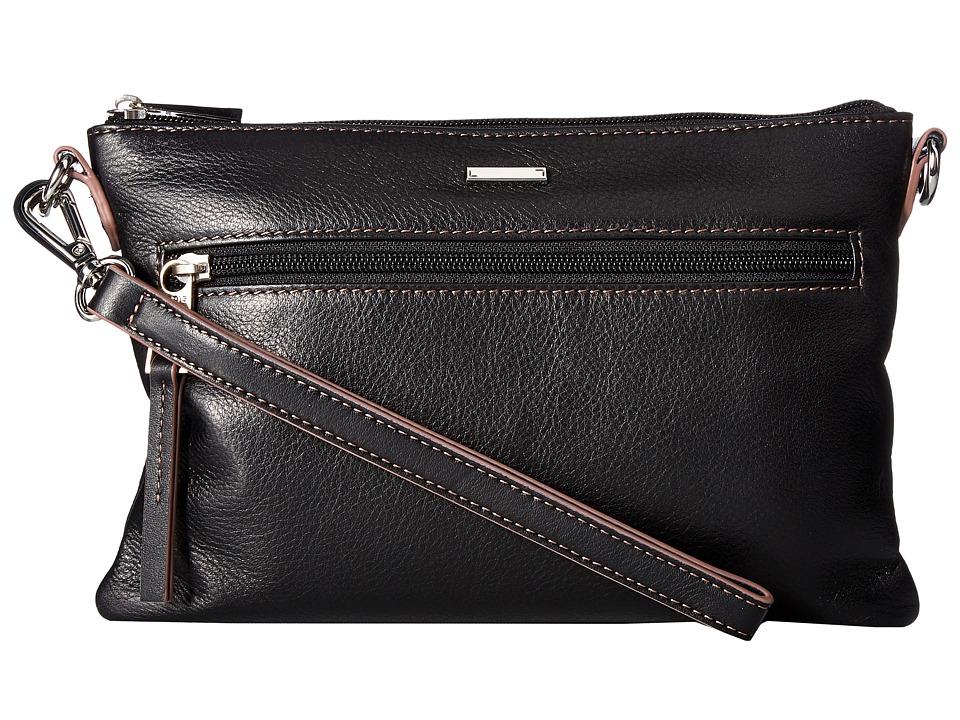 Lodis Accessories - Mill Valley Under Lock Key Kala Convertible Crossbody (Black) Cross Body Handbags