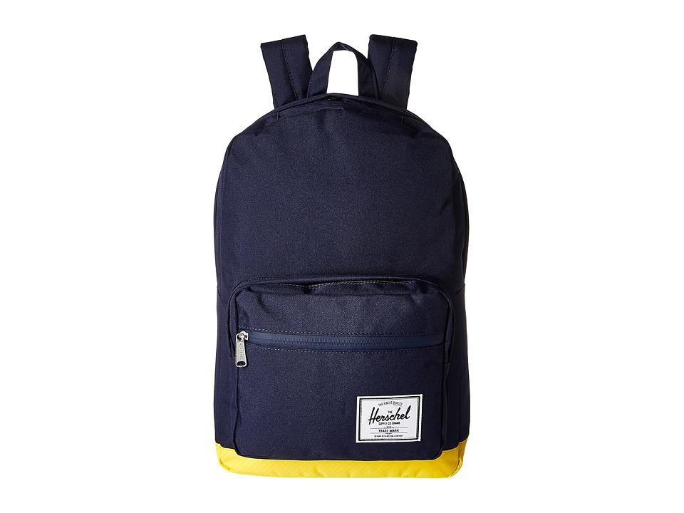 Herschel Supply Co. Pop Quiz (Peacoat/Cyber Yellow) Backpack Bags