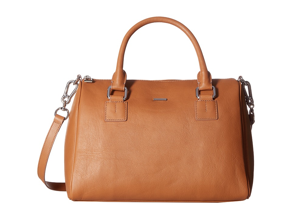 Lodis Accessories - Mill Valley Under Lock Key Valda Satchel (Toffee) Satchel Handbags