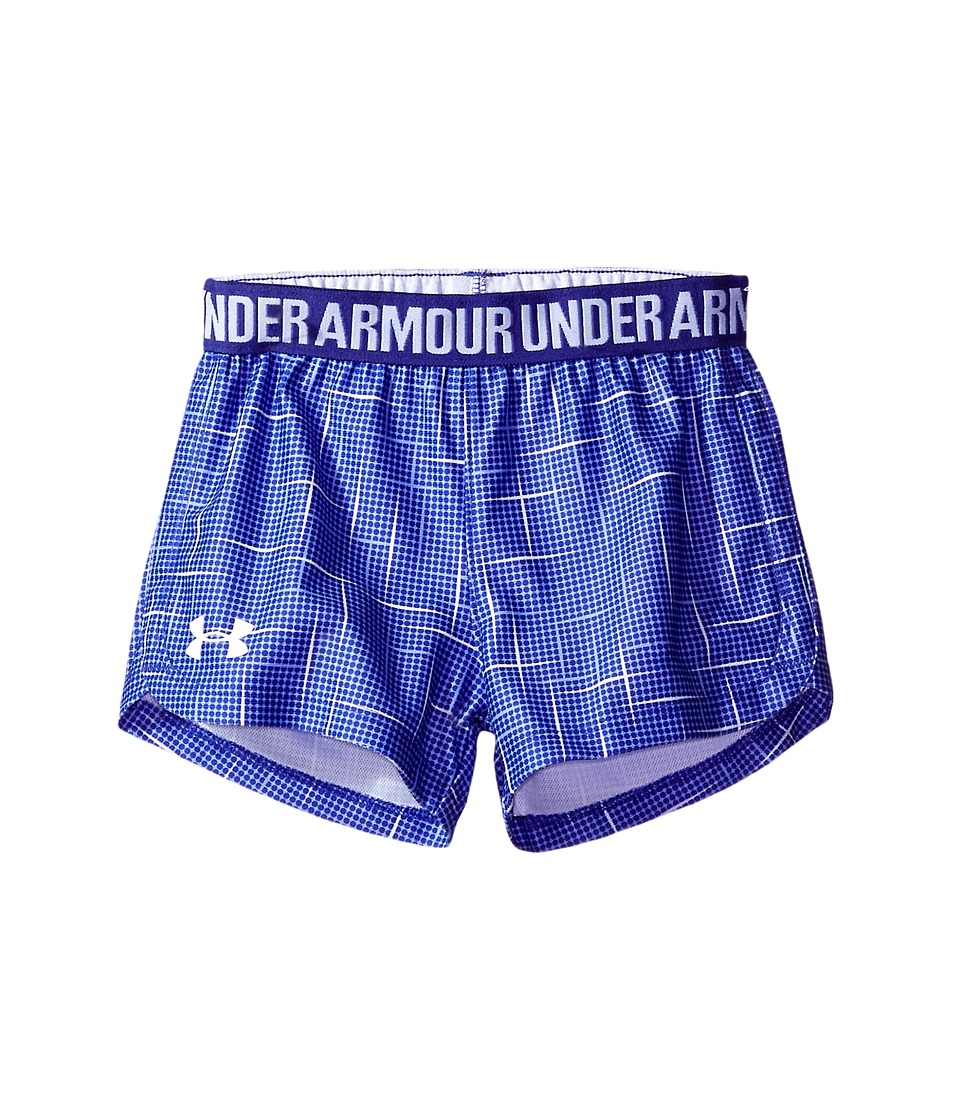 Under Armour Kids - Glazed Play Up Shorts (Little Kids) (Constellation Purple) Girl's Shorts