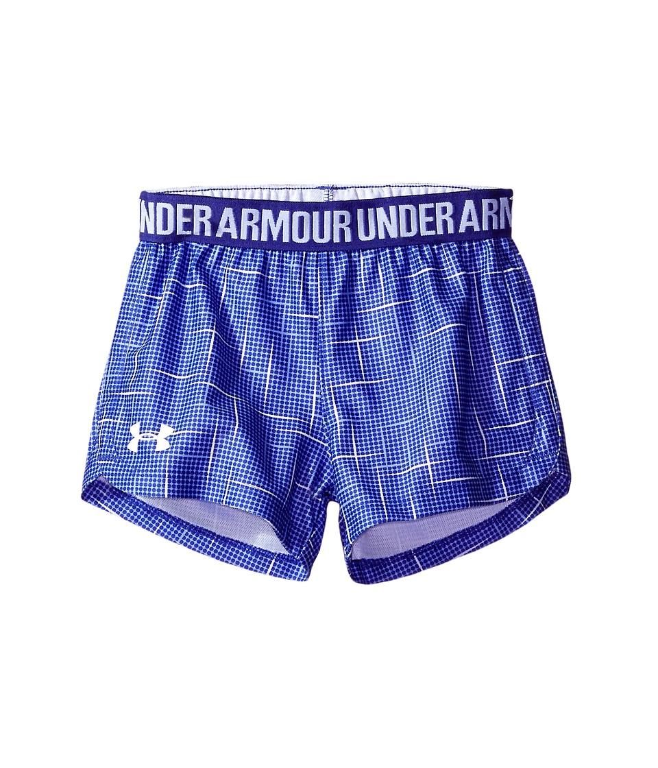 Under Armour Kids - Glazed Play Up Shorts (Little Kids) (Constellation Purple) Girl's Shorts