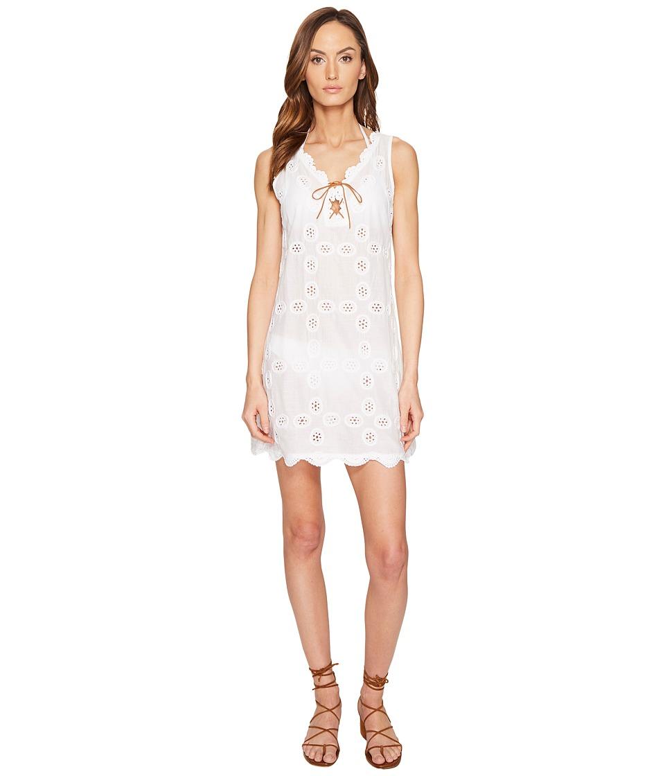 Letarte Sleevelss Doily Dress (Whtie) Women
