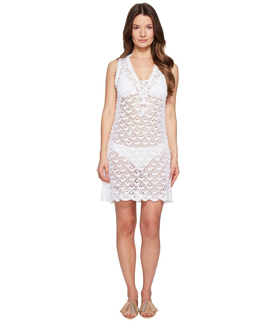 Letarte Crochet Dress (White) Women