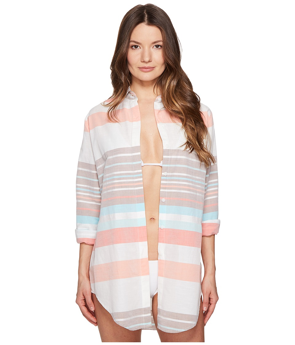 Letarte - Stripe Beachshirt (Multi Stripe) Women's Swimwear