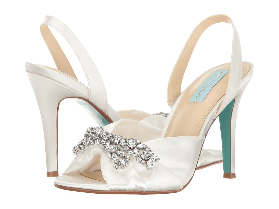 Betsey Johnson Briel (Ivory Satin) High Heels