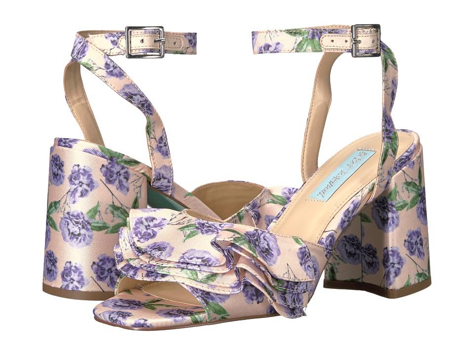 Blue by Betsey Johnson - Flirt (Lilac) Women's 1-2 inch heel Shoes