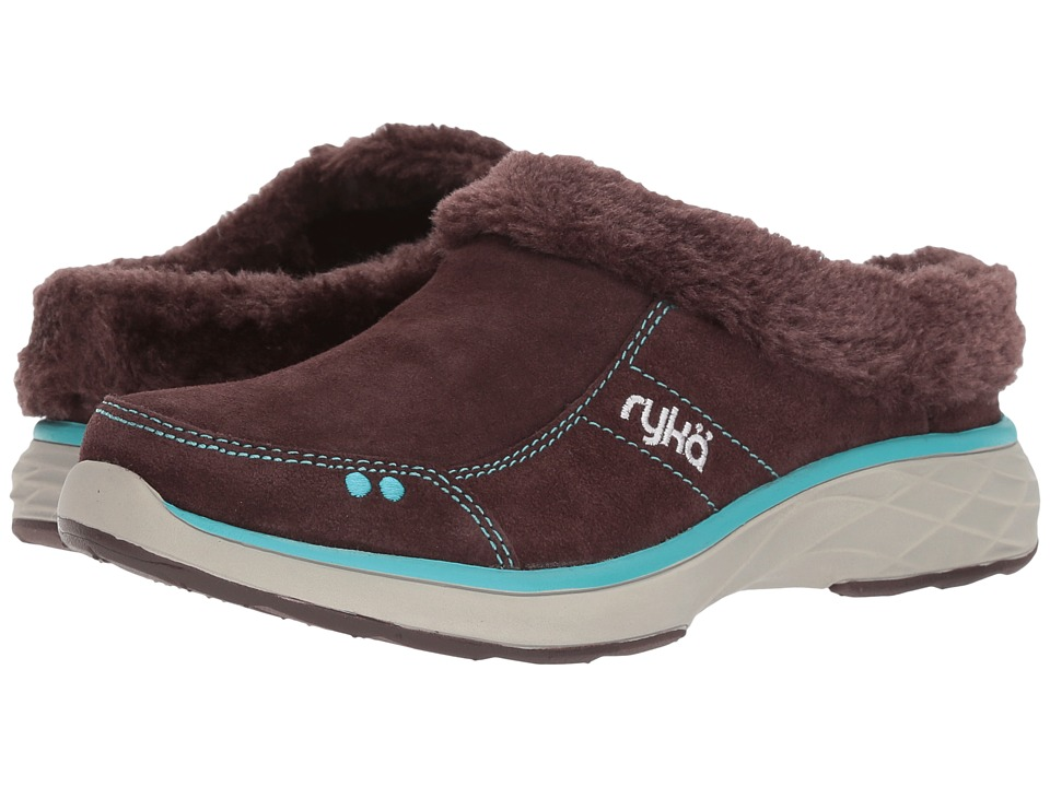 Ryka - Luxury (Roasted Chestnut/Bluebird) Women's Slip on Shoes