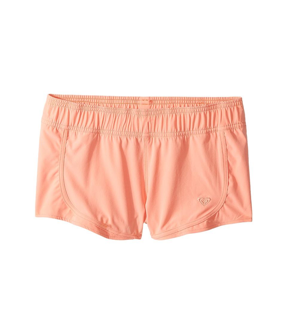Roxy Kids - Essentials Boardshorts (Big Kids) (Desert Flower) Girl's Swimwear