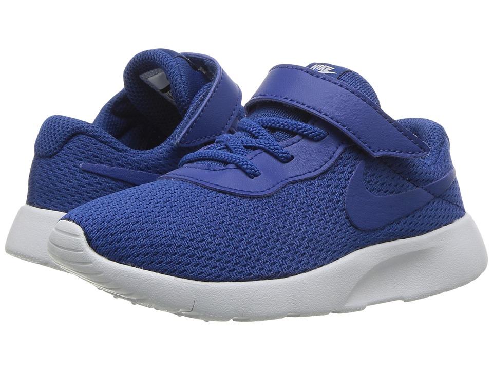 Nike Kids Tanjun (Infant/Toddler) (Gym Blue/Gym Blue/Pure Platinum) Boys Shoes