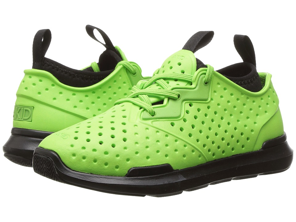 AKID Brand - Chase (Toddler/Little Kid/Big Kid) (Bright Green/Black) Kids Shoes