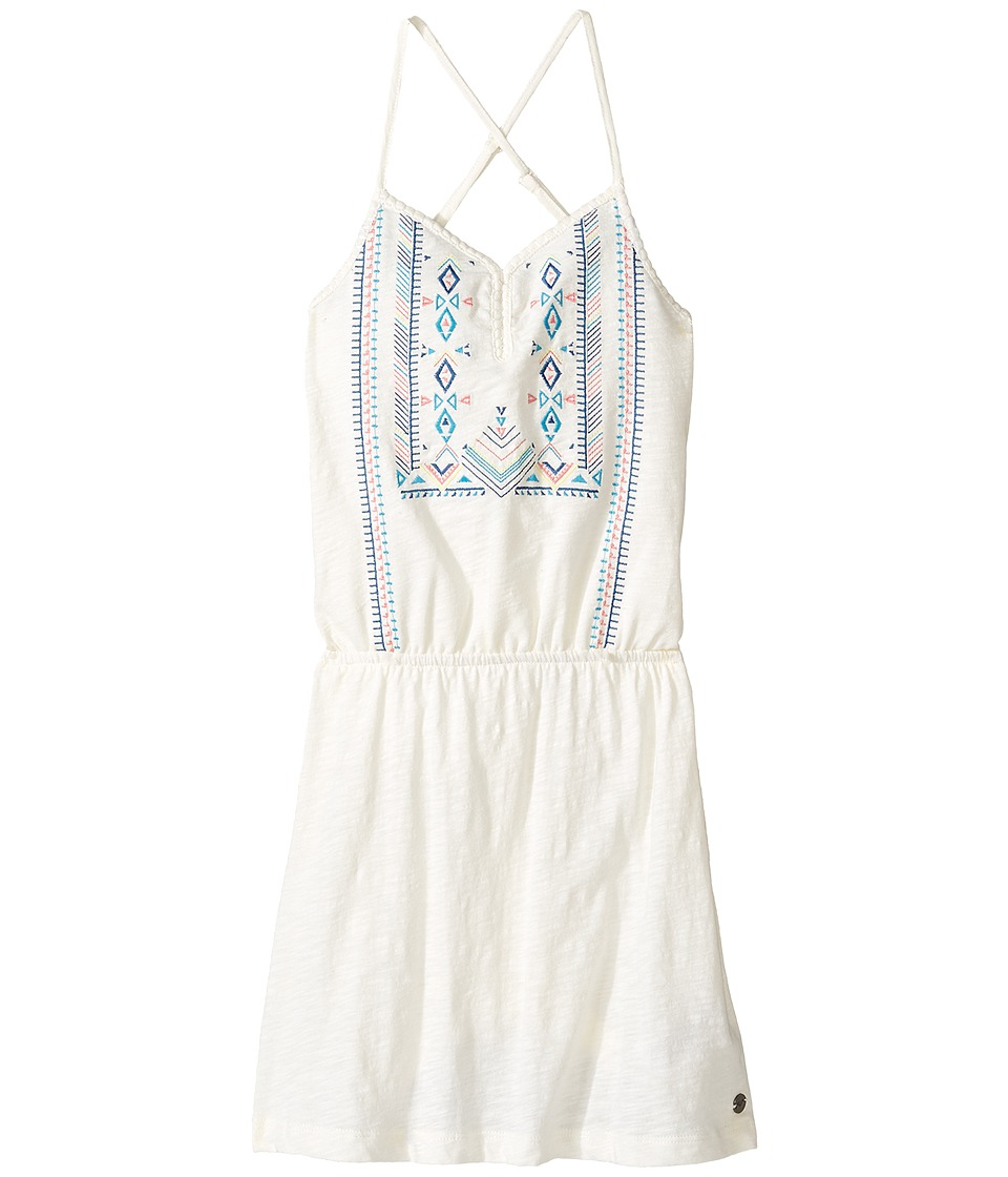 Roxy Kids - N'ice Cream Dress (Big Kids) (Marshmallow) Girl's Dress