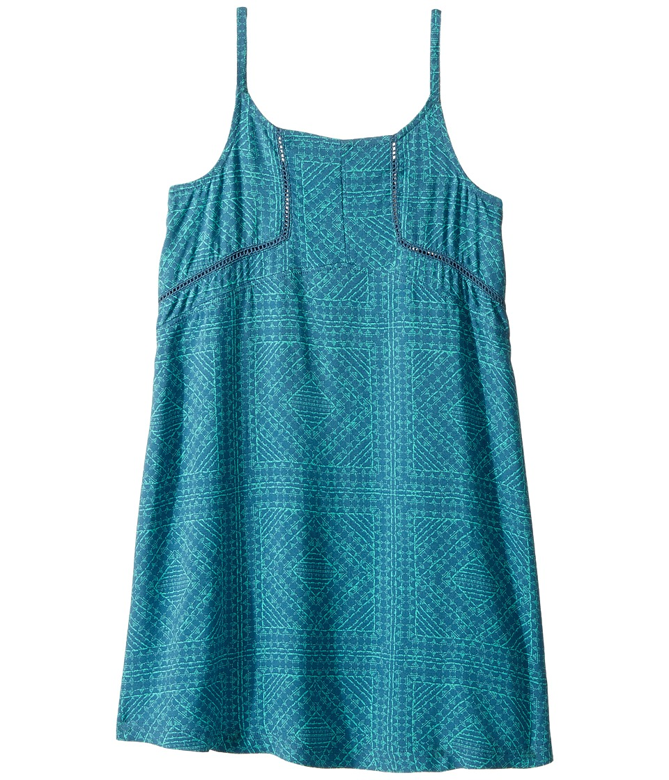 Roxy Kids - Welcome Dear Dress (Big Kids) (Captain Blue Cayo Coco) Girl's Dress