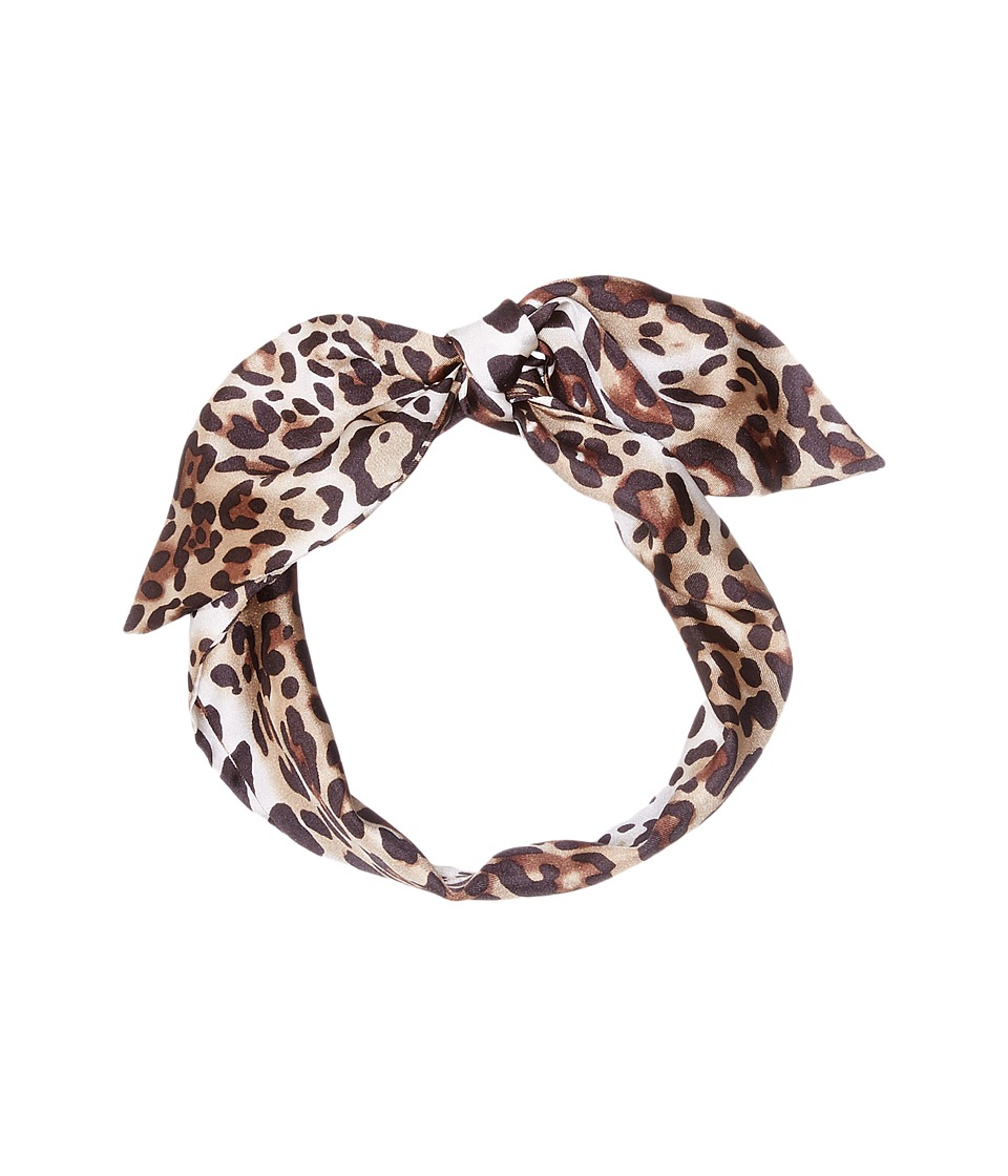 Vince Camuto - Spots + Roar Twilly (Dark Brown) Scarves