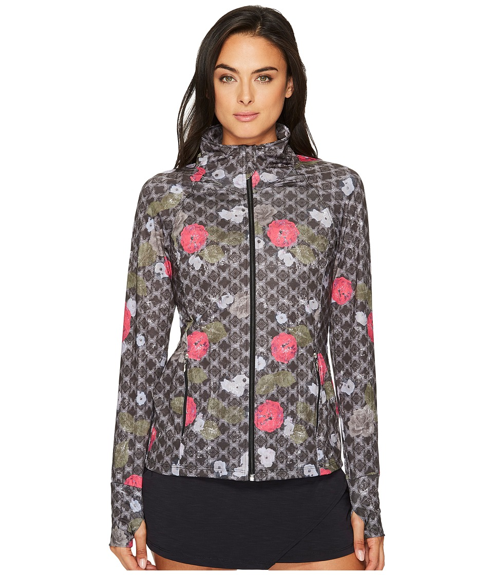 Eleven by Venus Williams - Floral Brocade Slow Burn Jacket (Floral Brocade) Women's Coat