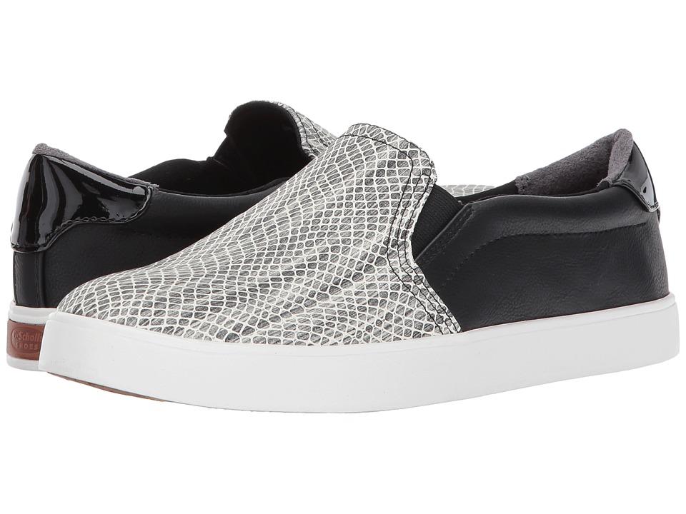 Dr. Scholl's - Madison (Black/White Snake Print) Women's Shoes