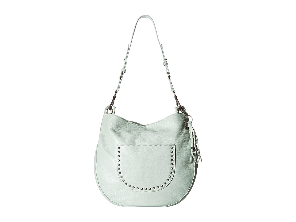 The Sak - Zinnia Leather Hobo (Mint) Hobo Handbags