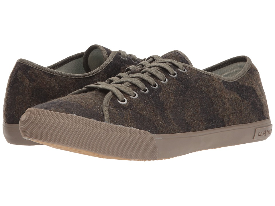 SeaVees Army Issue Low Wintertide (Camouflage Wool) Men