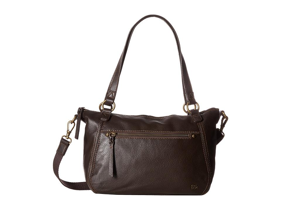 The Sak - Carson Leather Satchel (Cocoa) Satchel Handbags