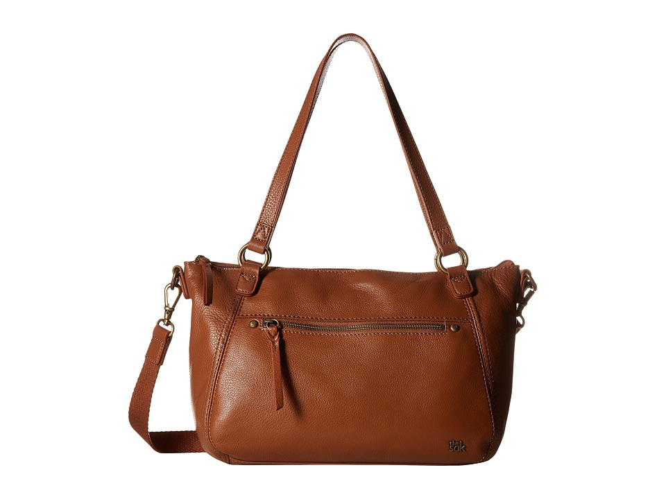 The Sak - Carson Leather Satchel (Tobacco) Satchel Handbags