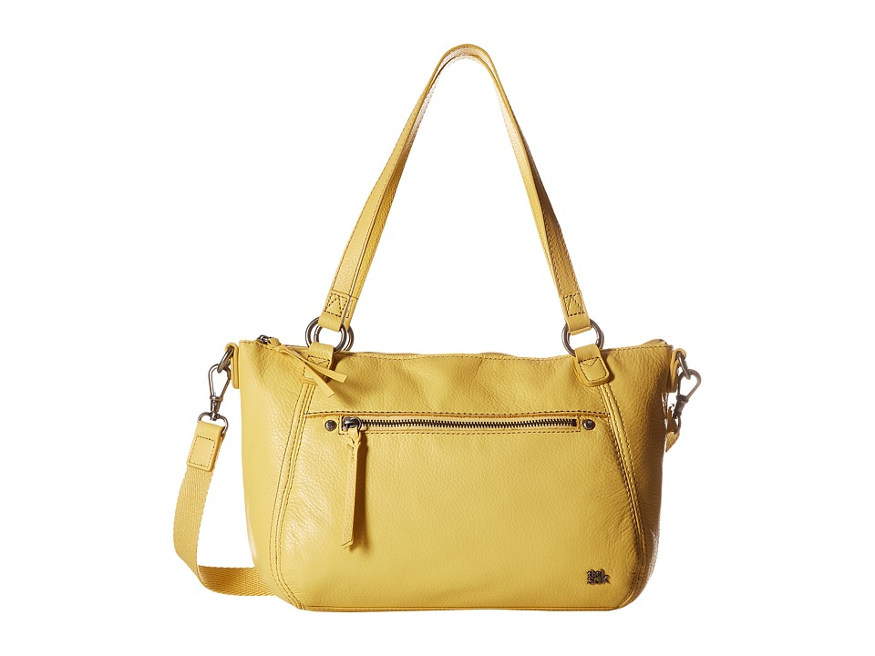 The Sak - Carson Leather Satchel (Sunlight) Satchel Handbags