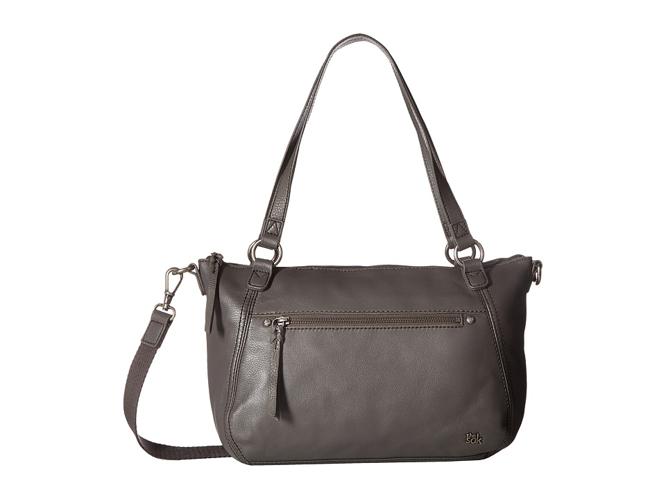 The Sak - Carson Leather Satchel (Slate) Satchel Handbags