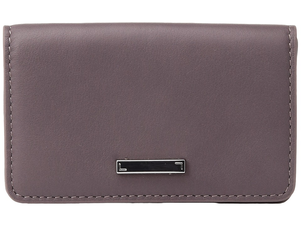 Lodis Accessories - Mill Valley Under Lock Key Mini Card Case (Lilac) Credit card Wallet