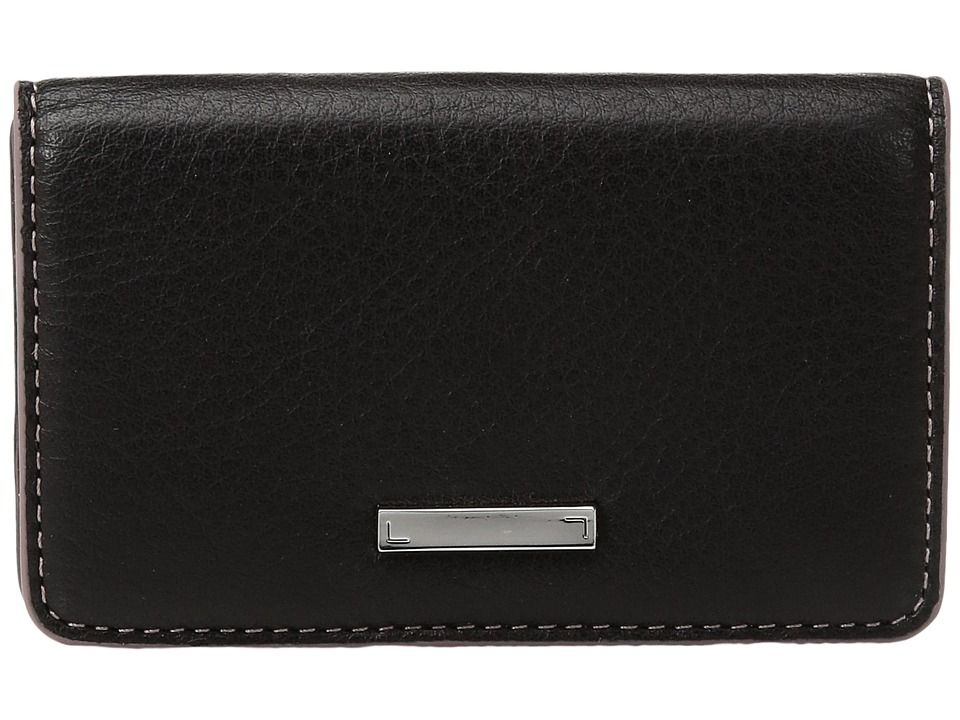 Lodis Accessories - Mill Valley Under Lock Key Mini Card Case (Black) Credit card Wallet