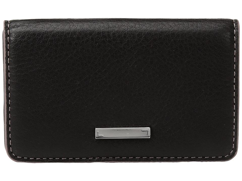 Lodis Accessories - Mill Valley Under Lock Key Mini Card Case (Black) Credit card Wallet