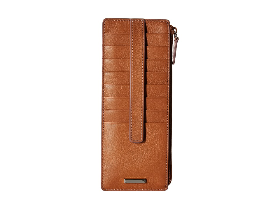 Lodis Accessories - Mill Valley Under Lock Key Credit Card Case with Zipper Pocket (Toffee) Credit card Wallet