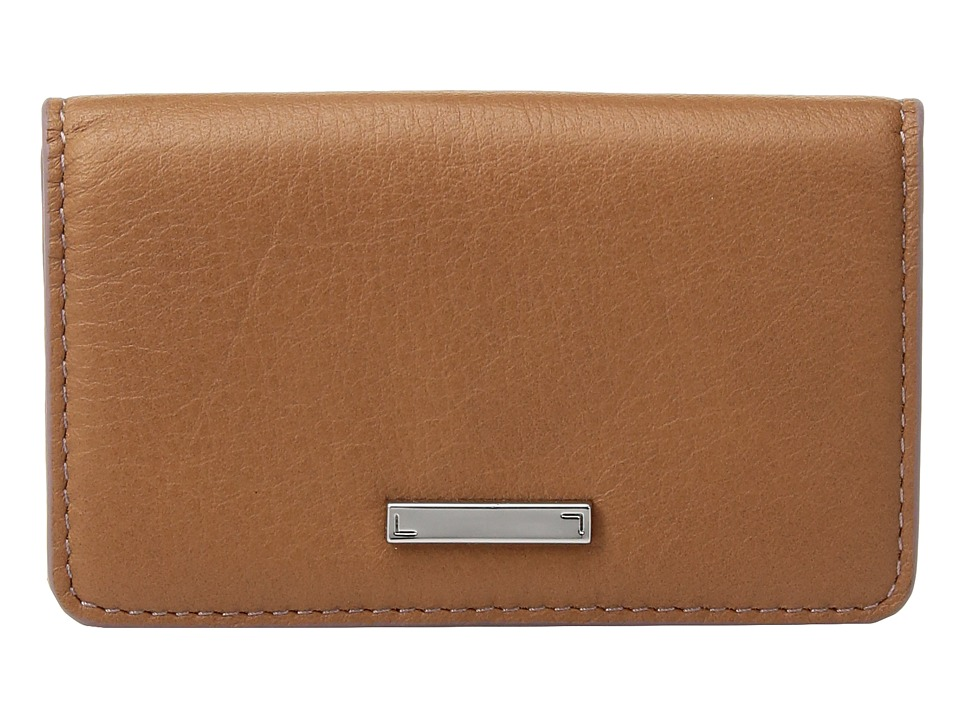 Lodis Accessories - Mill Valley Under Lock Key Mini Card Case (Toffee) Credit card Wallet