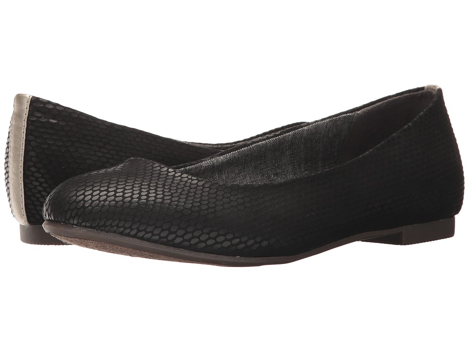 Dr. Scholl's - Connect (Black Snakeskin Print) Women's Shoes