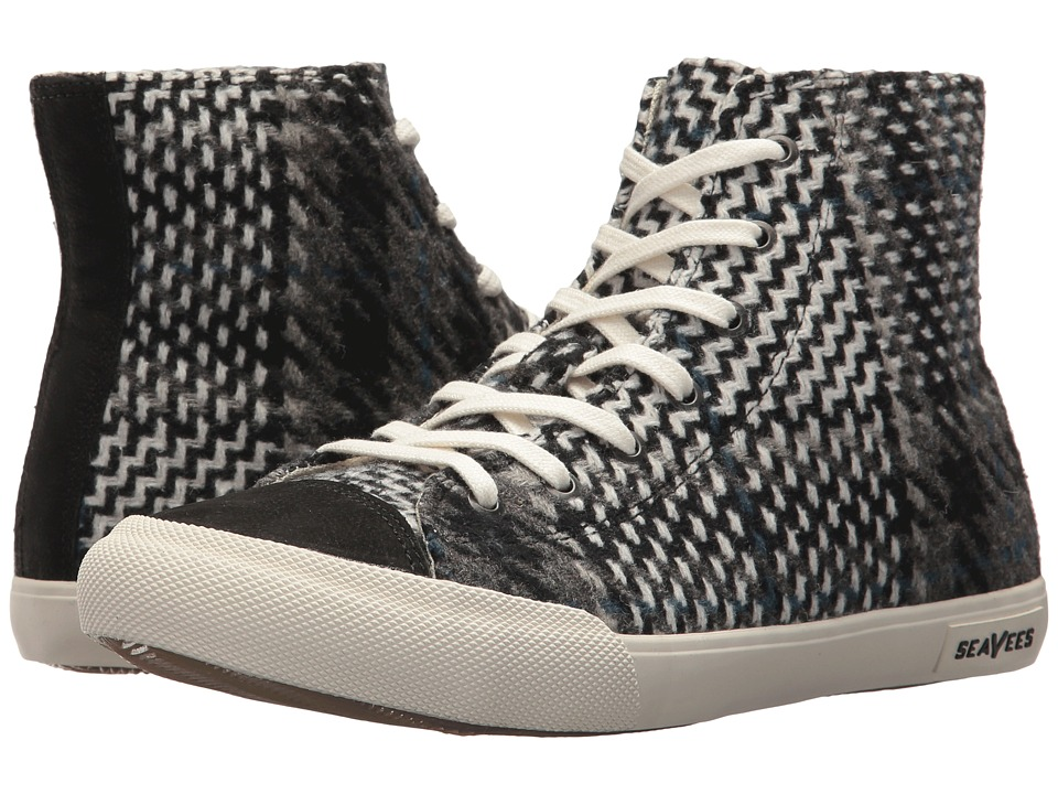 SeaVees Army Issue High Wintertide (Black Patchwork) Women