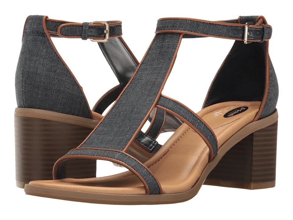 Dr. Scholl's - Shine (Denim/Tan) Women's Shoes
