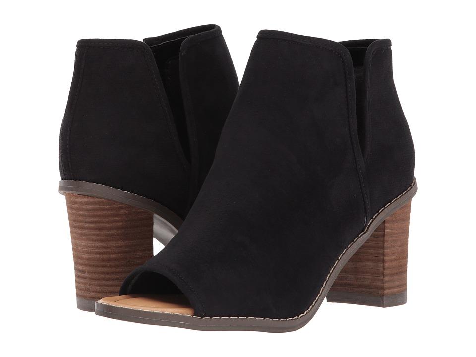 Dr. Scholl's - Postpone (Black Microfiber) Women's Shoes
