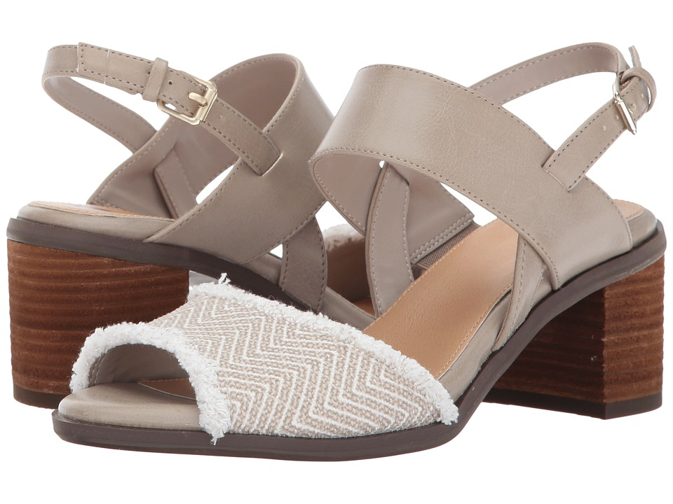 Dr. Scholl's - Skyline (Simply Taupe/Raffia) Women's Shoes