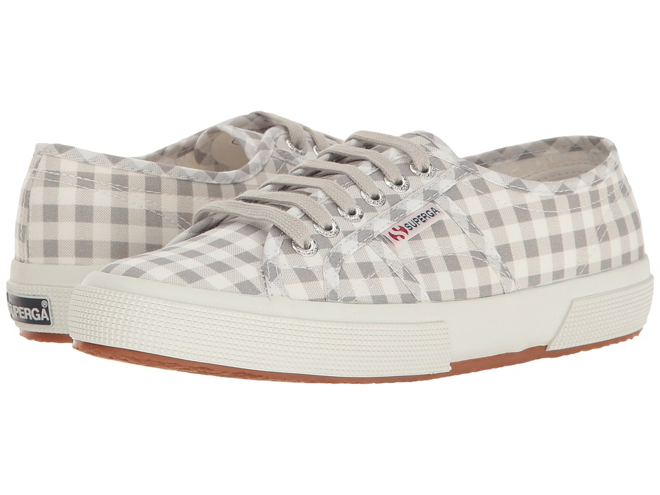 Superga - 2750 Gingham (Grey) Women's Shoes