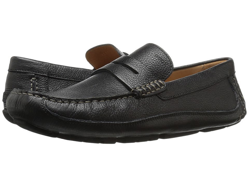 Geox - M MELBOURNE 2 (Black) Men's Slip on Shoes