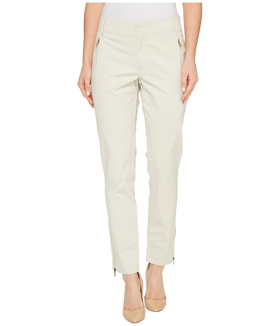 Ivanka Trump - Stretch Cotton Poplin Pants (Cement) Women's Casual Pants
