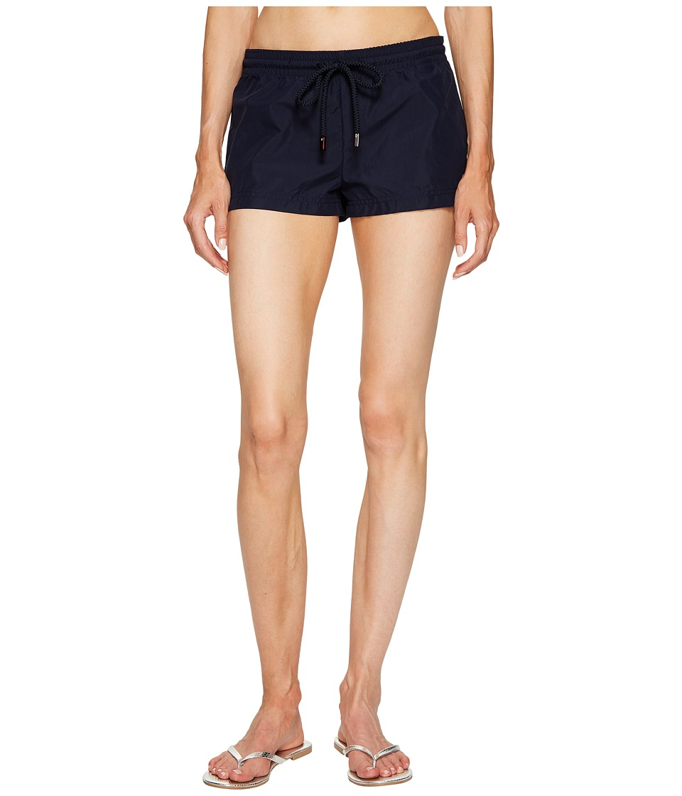 Vilebrequin - Cotton Touch Shorts Fiona (Navy Blue) Women's Swimwear