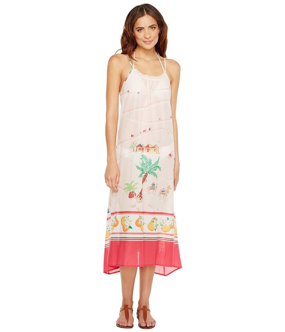 Kate Spade New York - Capistrano Beach #57 Maxi Dress Cover-Up (White) Women's Swimwear