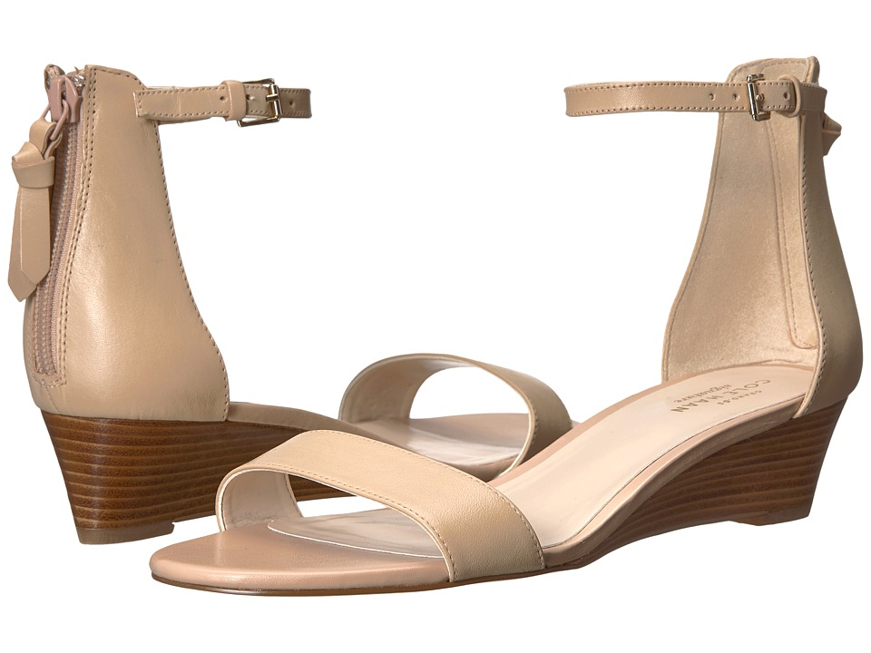 Cole Haan Adderly Wedge (Nude Leather) Women