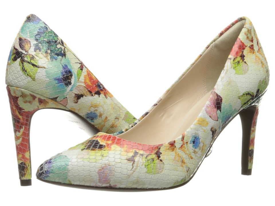 Cole Haan - Amelia Grand Pump 85mm (Floral Print) Women's Shoes