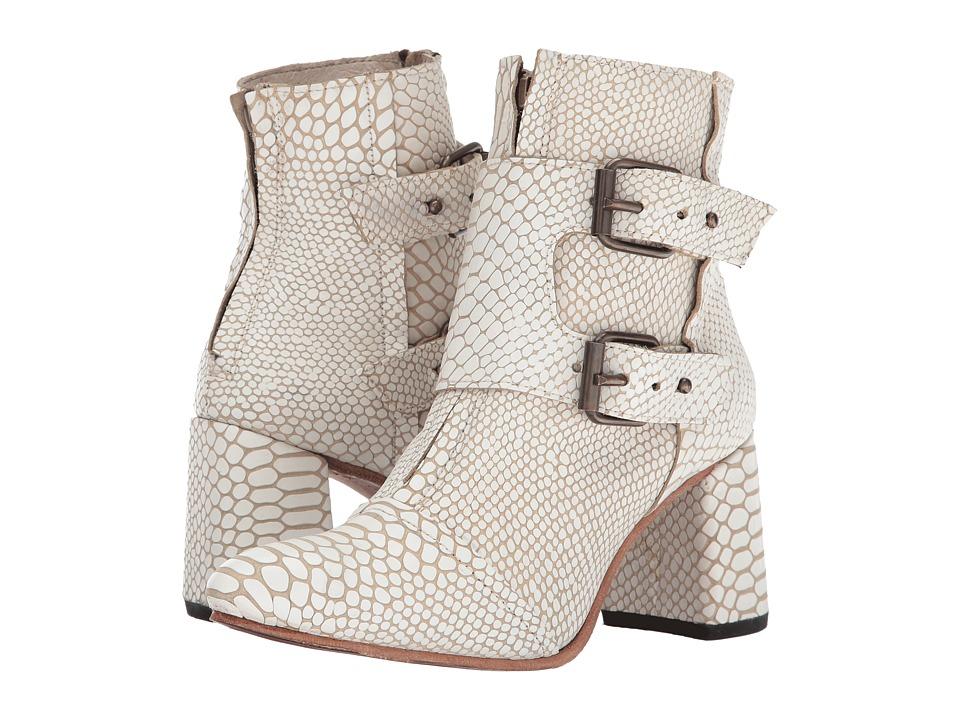 Freebird - Joey (White Snake) Women's Shoes